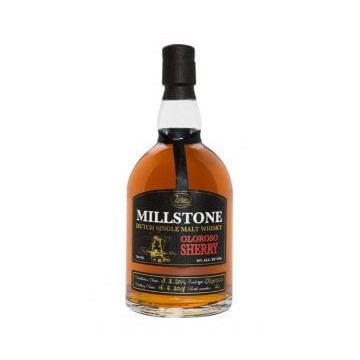 Millstone Dutch Single Malt Whisky Peated PX Sherry Cask Zuidam Distillers