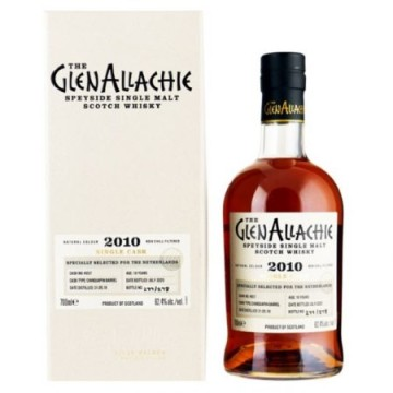 GLENALLACHIE 10 YEARS OLD Chinquapin Barrel Specialy Selected for the Netherlands